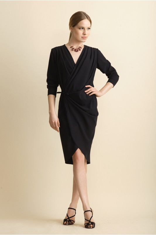 FLAME WRAP DRESS
