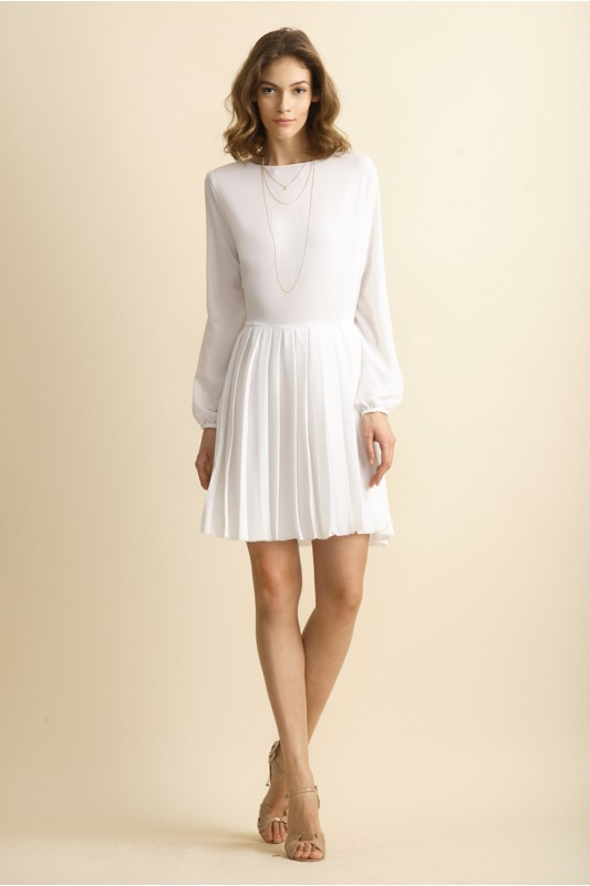 VANESSA PLEATED DRESS
