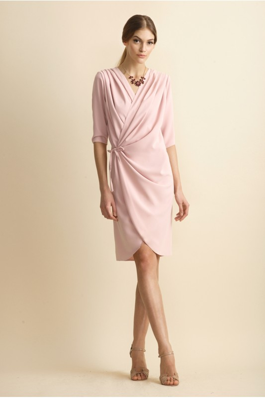 SELMA WRAP DRESS