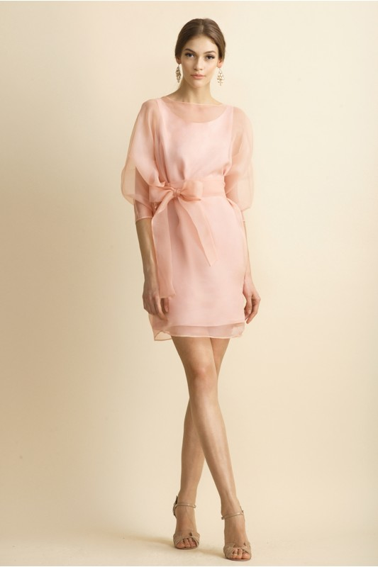 SILK- ORGANZA DRESS