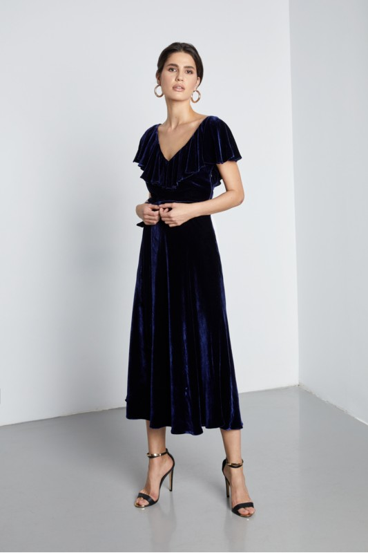 ANNECY VELVET  DRESS