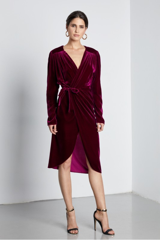 ARIES WRAP DRESS